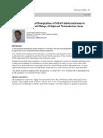 Study of Impact of Energization - Simens.pdf