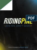 Riding Pine 2018 NHL Draft Guide