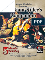5 Minute Workday - The Giant Killer's Companion