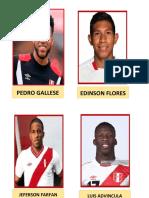 Seleccion Peru 2018 - II