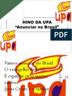 Slide - Cântico Hino Da Upa