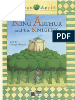 Muestra King Arthur and His Knights Told by George Gibson Black Cat - Green Apple