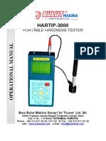 Manual Durómetros Sadt Hartip-3000