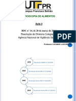 Aula 3 LL - Legislação RDC