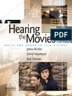 [James Buhler David Neumeyer Rob Deemer] Hearing the Movies Music and Sound in Film History