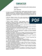 Atribuições e Competências Do Setor de Relações Internacionais