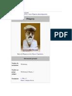 Biografia Pitágoras