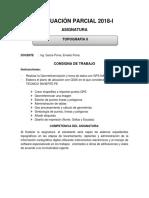 Consigna de Trabajo TOPO II