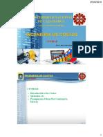 2.0 Clase 01 - Introducción a Costos y Presupuestos