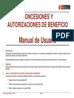 CONCESIONES Y AUTORIZACIONES DE BENEFICIO- Manual de Usuario - V01_2.pdf