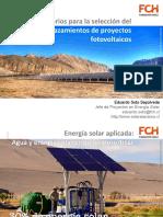 Criterios Seleccion Emplazamientos PV 20130910