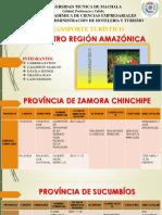 Región Amazónica Diapositiva