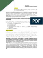 RESUMEN RIDAA_Atribuciones y Responsabilidades
