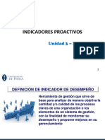 Unidad 03 - P3 SST - Indicadores Proactivos y Programa de SST
