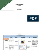 Matriz y Evidencia a Un Plan de Formación