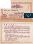 District Commissioner Certificate (1935)