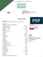 Tónico total- John Martin Productos Veterinarios