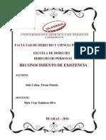 RECONOCIMIENTO DE EXISTENCIA_FACULTAD DE DERECHO Y CIENCIA POLÍTICA_ TIRONE_SOLIS_.pdf