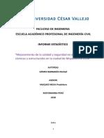 Facultad de Ingenieria Informe Estadistico