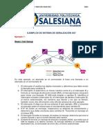 Ejemplos de Sistema de Señalización Ss7