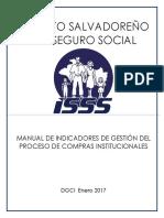 Manual de Indicadores de Gestión Del Proceso de Compras Institucionales_Enero 2017