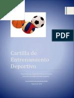 Cartilla Entrenamiento Deportivo Jorge Luis Valencia Sabogal