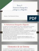 Subsistemas integrados Analogicos y Digitales