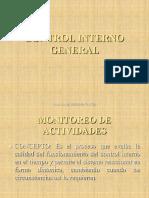 1.1.15 Control Interno General