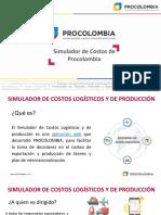 Simulador de Costos de Procolombia