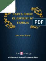 Bosco San Juan - Carta Sobre El Espíritu de Familia