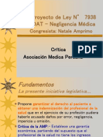Proyecto de Ley SOAT Medico