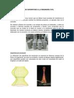 Aplicaciones de Las Superficies a La Ingeniería Civil