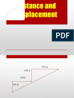 Distance Displacement