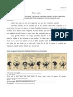 Escrito Agosto Español