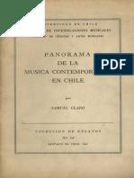 Panorama de la Música contemporánea en Chile