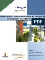 NORMATIVIDAD TALLER TITULACION CEHEGA 2015 (VERSIÓN Completa).docx