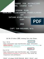 LESSON PLAN 2 CAPT YAN RISUANDI MSC.pdf