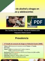 Consumo de Alcohol y Drogas en Niños