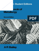 A. R. Bailey M.sc., Ph.D., D.I.C., A.I.M. (Auth.) - A Text-Book of Metallurgy (1960, Macmillan Education UK)