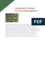 Pemanfaatan Cacing Kompos