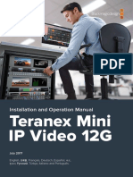 Teranex Mini IP Video Manual