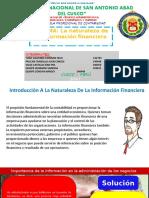 Naturaleza de La Informacion Financiera LISTO