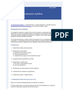 Metodos de Evaluacion Auditiva