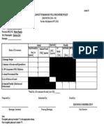 Bfdp Monitoring Form 1