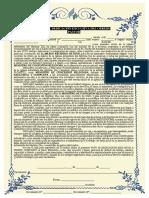 Voto de Dedicación Exclusiva Obrero