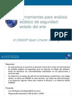 OWASP_Spain_20080314_Herramientas_de_análisis_estático_de_seguridad_del_código_estado_del_arte (1).ppt