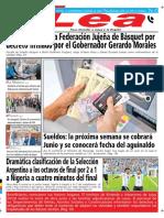 Periódico Lea Miércoles 27 de Junio Del 2018