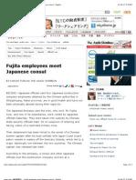 Fujita employees meet Japanese consul