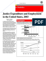 Justice Expenditure and Employment in the United States, 2003 0406 DOJ-Stat