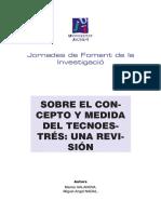 Sobre El Concepto y Medida Del Tecnoestrés-una Revisión